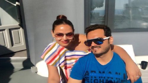 Mumbai: Esha Deol and husband Bharat Takhtani welcome baby girl