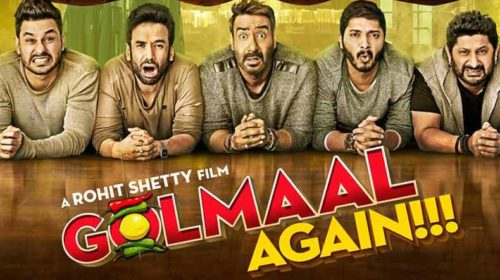 Ajay Devgn's Golmaal Again becomes the 3rd highest all time Diwali opener