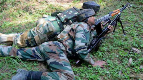 J&K: 1 terrorist killed in Handwara encounter; grenade, rifle, Pakistani currency recovered