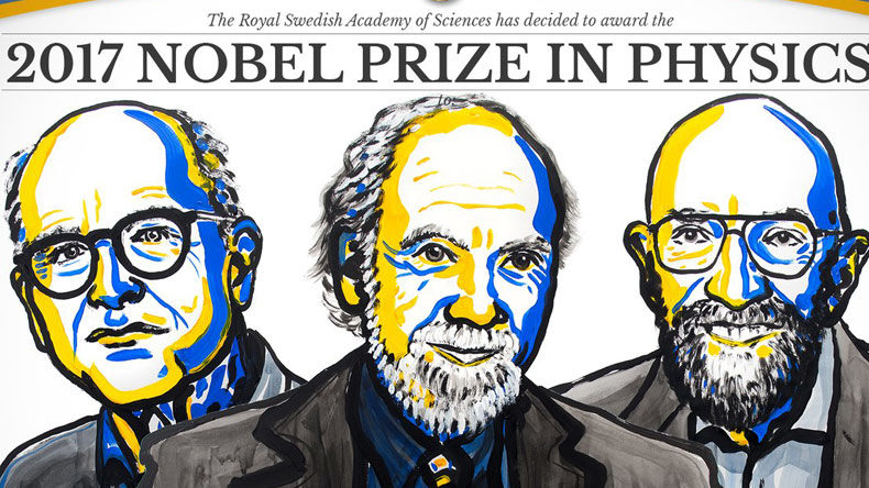 Weiss, Barish and Thorne win Nobel Physics Prize