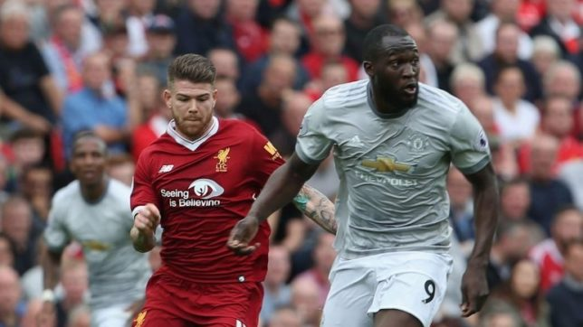 Manchester United striker Romelu Lukaku slammed by Gary Neville for shambolic display against Liverpool