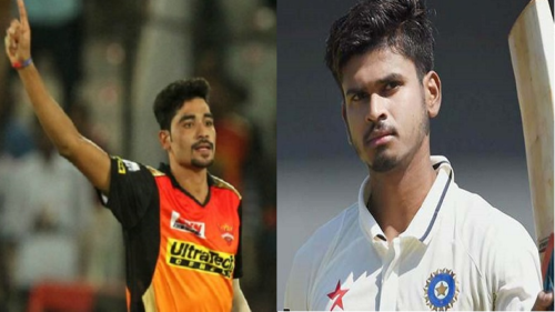 India vs New Zealand 2017: Rookies Shreyas Iyer and Mohammed Siraj earn national call ups for T20 series
