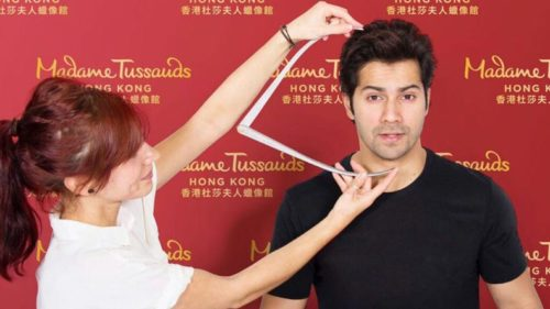 Varun Dhawan's wax figure at 'Madame Tussauds coming soon'