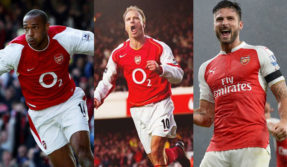 Watch: Top 5 goals Arsenal players scored against Tottenham