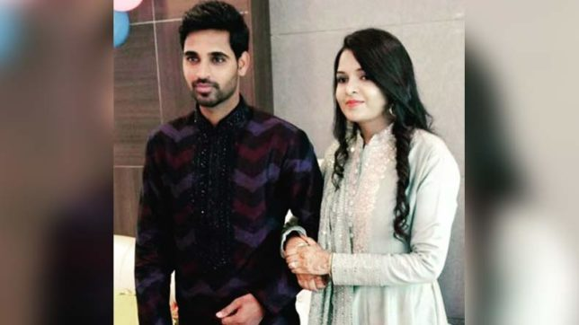 After Zaheer Khan, Bhuvneshwar Kumar to tie knot with Nupur Nagar; see Bhuvi's mehendi-haldi ceremony pics