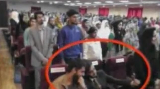 J&K students disrespect National Anthem; refuse to stand up for India's pride