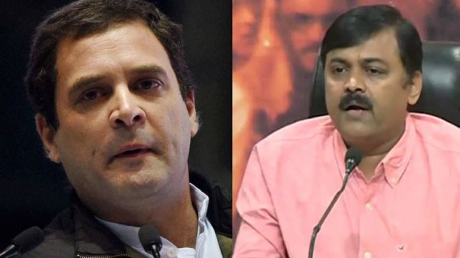 Gujarat Assembly Elections 2017: BJP's GVL Rao compares Rahul Gandhi to Alauddin Khalji and Aurangzeb