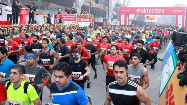 Airtel Delhi Half Marathon may shift to new window due to alarming pollution level
