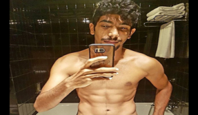 Flamboyant pacer Jasprit Bumrah is the latest to join team India's 6 pack abs club
