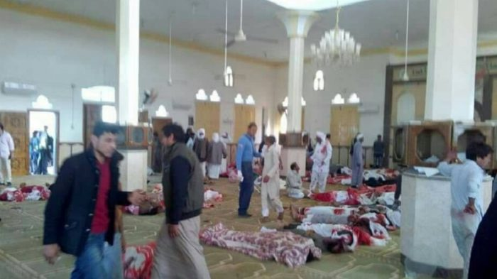 Egypt mosque attack leaves 184 dead, several injured