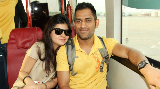 MS Dhoni celebrates wife Sakshi Dhoni's birthday in an adorable way!