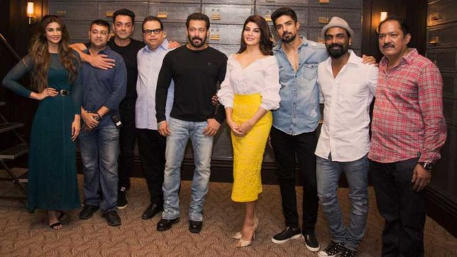 Salman Khan's Race 3 goes on floors; check out picture of the cast