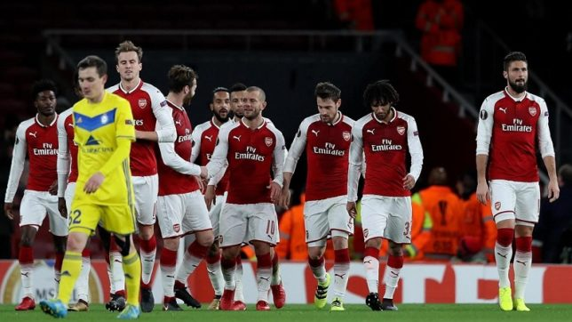 How Arsenal's Europa League team has outshined their Premier League squad