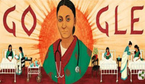 Google doodle celebrates Rukhmabai Raut who fought child marriage