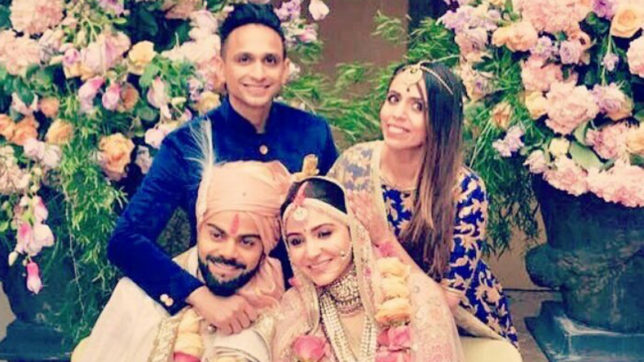 Virat Kohli-Anushka Sharma's haldi ceremony photos and video