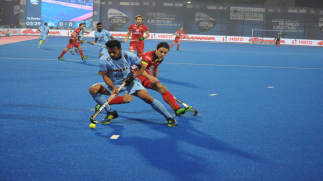 HWL 2017: India beat Belgium 3-2 in penalty shootout to cruise into semi-final