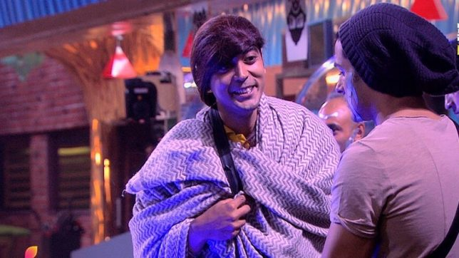 Bigg Boss 11 Day 72: Luv Tyagi dresses up as a female; contestants go crazy
