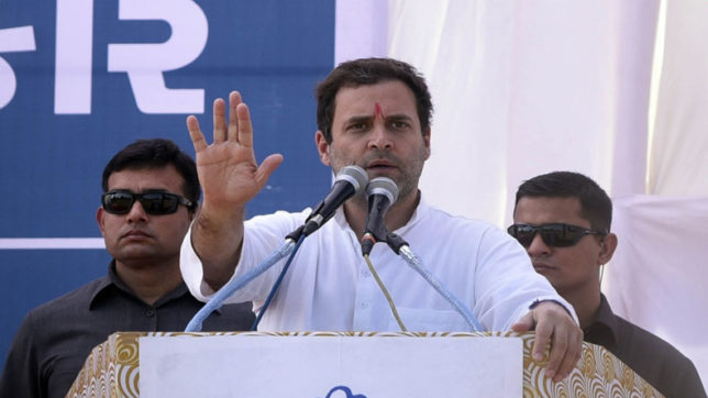 Constitution under attack by BJP, says Congress president Rahul Gandhi