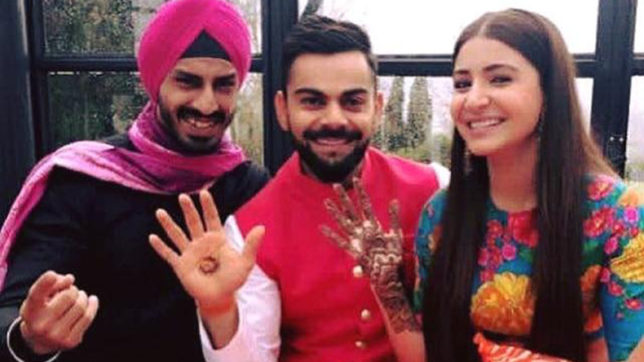 Virat Kohli-Anushka Sharma wedding: Twitter showers blessings on the newly-wed