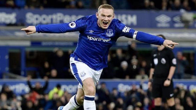With best conversion rate in Europe, Wayne Rooney is the force behind Everton's redemption