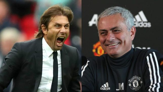 Antonio Conte gets very salty over Mourinho 'clown' comments