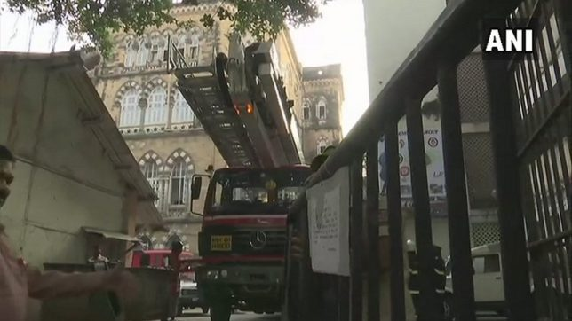 Another fire breaks out at Shiv Shakti building at Lower Parel