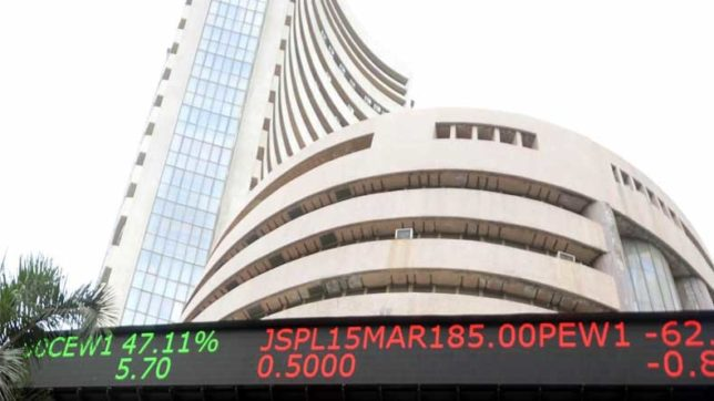 Sensex, Nifty hit record high
