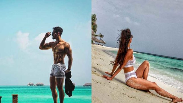 Tiger Shroff and Disha Patani celebrate new year in Maldives