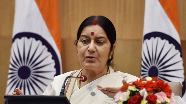 Sushma to undertake tour of Thailand, Indonesia and Singapore