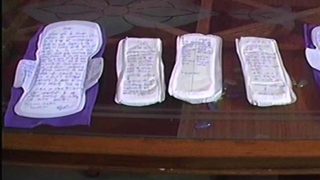 Gwalior students to send 1000 signed sanitary pads to PM