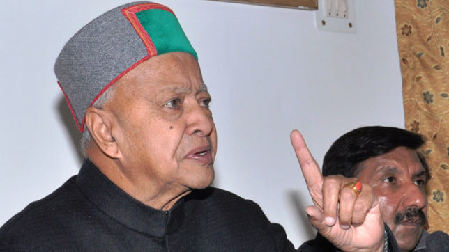 Himachal CM Virbhadra Singh slams JP Nadda for delay in setting up AIIMS