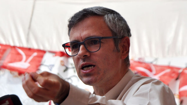 Omar Abdullah hits out at BJP, says Article 35A a case of Jammu vs Kashmir