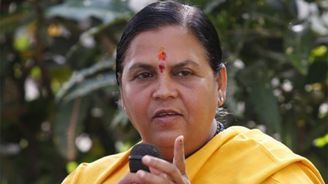 Dialogue basis for Teesta solution, says Water Resources Minister Uma Bharti