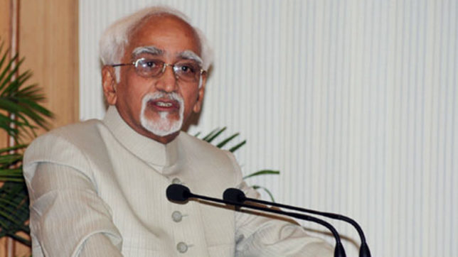 Democratic means only way to solve world problems: Hamid Ansari