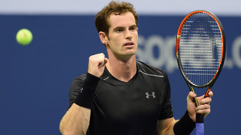 British Tennis Player Andy Murray Wins First Game In