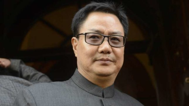 MoS Home Kiren Rijiju lays foundation for integrated check-post at Dawki
