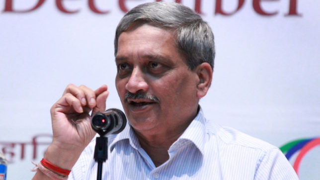 Want good ties with Pakistan:  Defence Minister Manohar Parrikar