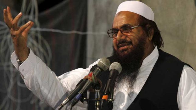 MEA-alleged-that-Hafiz-Saeed-is-an-international-terrorist,-a-mastermind-of-Mumbai-terror-attack,-responsible-for-unleashing-terrorism-in-Pak's-neighborhood.