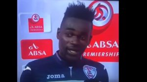 Mohammed Anas, Wife and girlfriend, Funny interview, Football interview, Football bloopers, Free State Stars, Ajax Cape Town, Ghana, Ghana football,