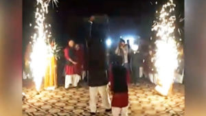 Pakistan, Funny video, Funny marriage, wedding goals, WWE, viral video, grrom makes entry on Triple H theme, Wrestling, Triple H, Pakistan news