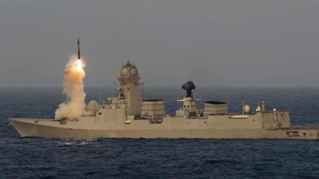 Indian-Navy-successfully-test-fires-land-attack-BrahMos-missile