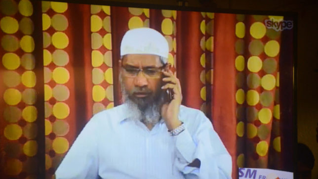NIA issues second non-bailable warrant against Zakir Naik