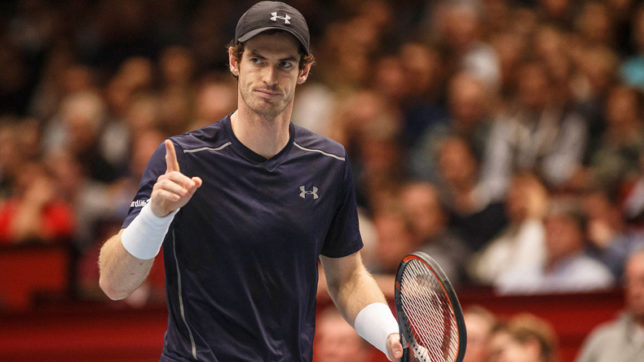 Andy Murray remains at top of ATP rankings, no changes in top 10