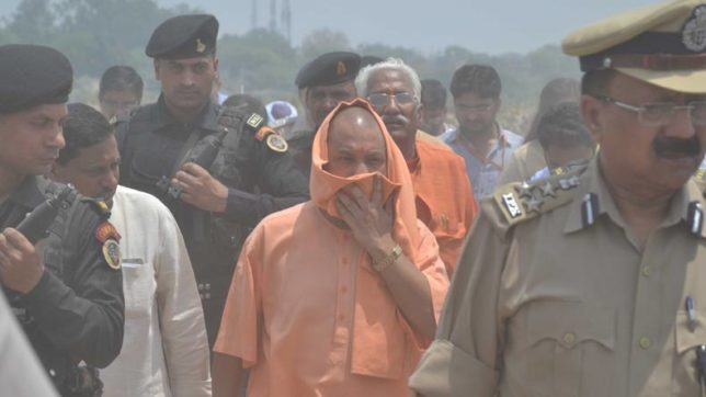 UP CM Yogi Adityanath visits Yamuna near Taj Mahal, pulls up officials over sewage