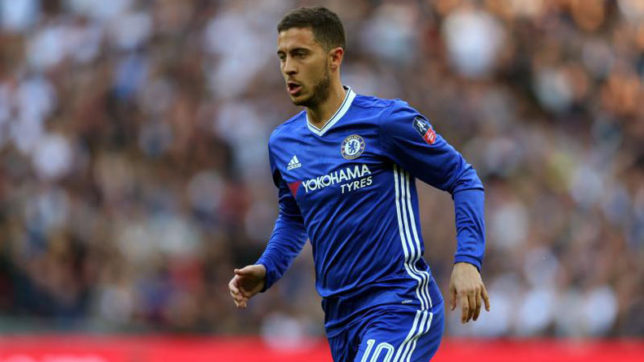 Chelsea's Hazard says he needs more goals to compete with Messi, Ronaldo