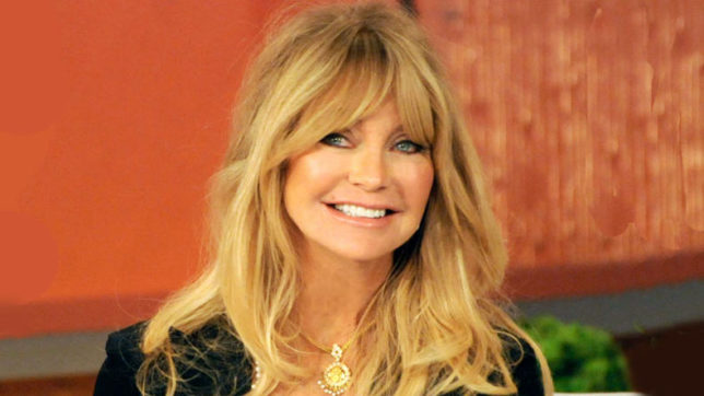 Goldie Hawn was quizzed about her return to acting
