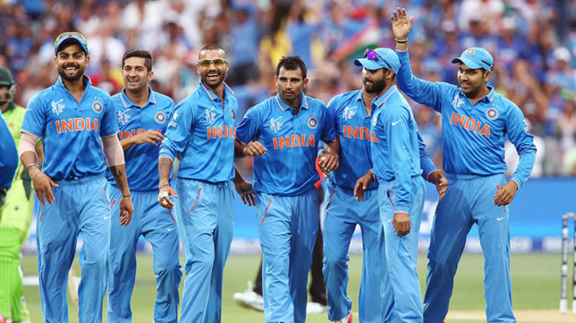 Indian squad for ICC Champions trophy announced