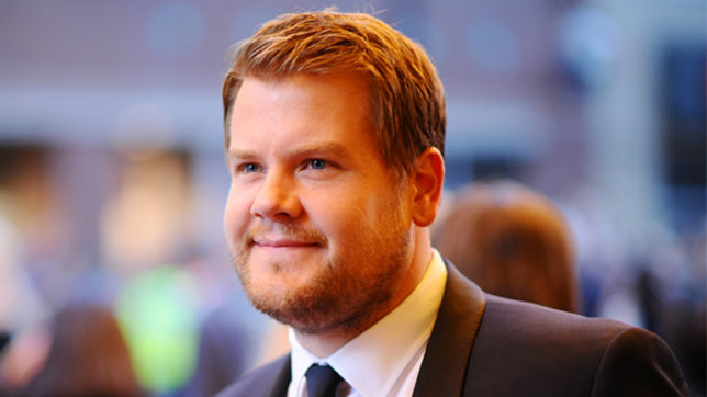 James Corden doesn't look at TV ratings