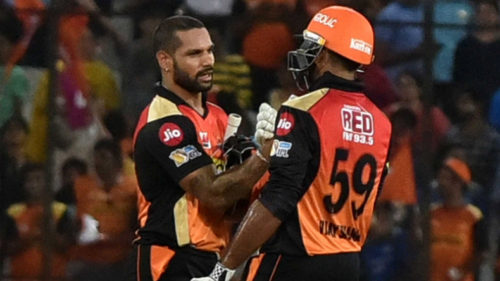 IPL 2017: Sunrisers Hyderabad beat Mumbai Indians by 7 wickets: Story in pictures