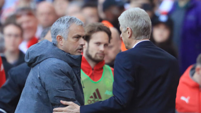 It's nice for them: Mourinho mocks Wenger in post-match interview
